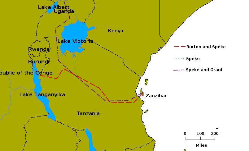 رحلة جون هاننج سبيك بحيرة فكتوريا ا.png